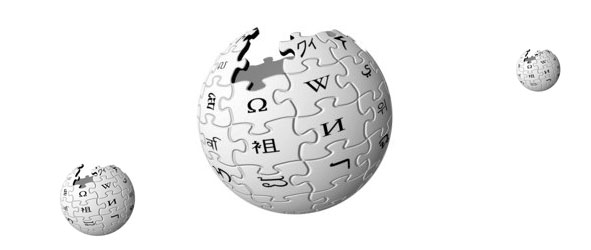 Wikipedia globes orbiting