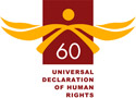 UN Declaration of Human Rights 60 anniversary logo