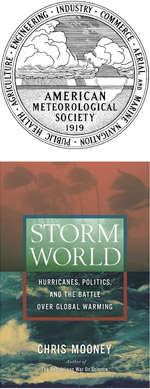 American Meteorological Society logo with Storm World Cover