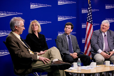 panelists at the event