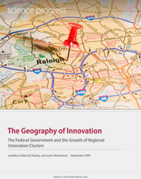 cover of report: The Geography of Innovation