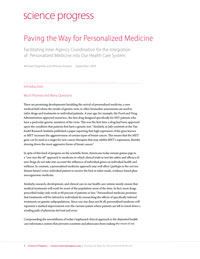 pdf of personalized medicine report